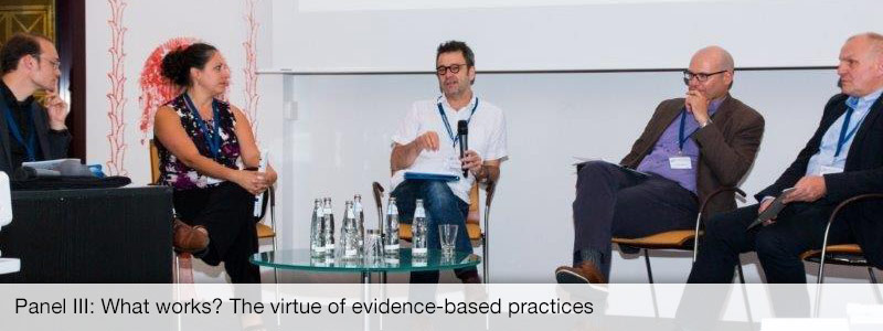 Panel III: What works? The virtue of evidence-based practices